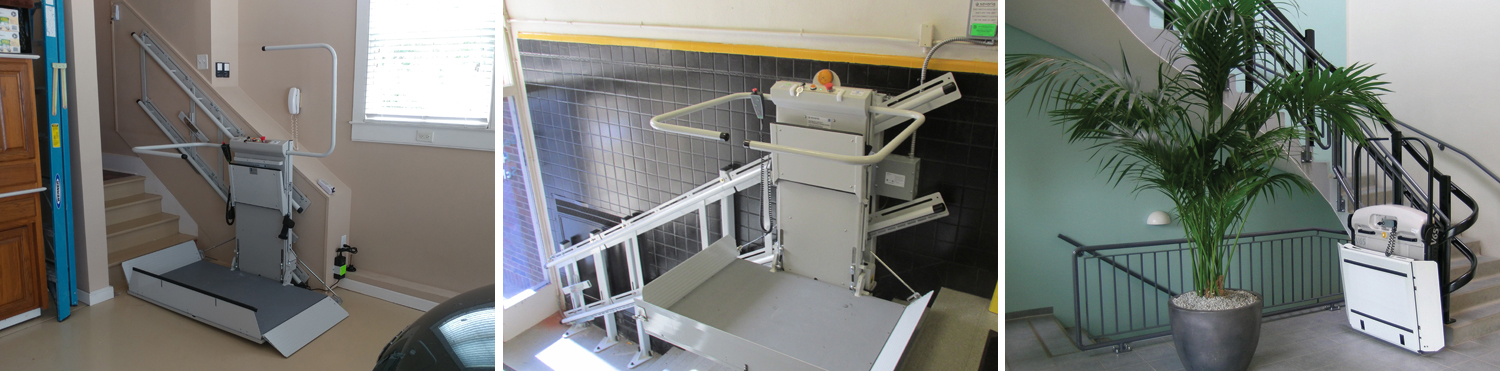 Inclined Platform Lift slide