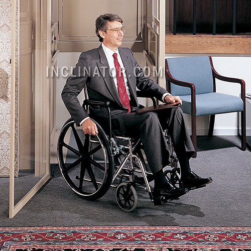 Inclinator VL Wheelchair Lift Commercial and Residential