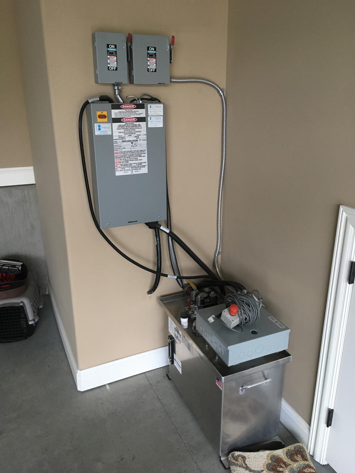 Inclinator Elevette Hydraulic Elevator