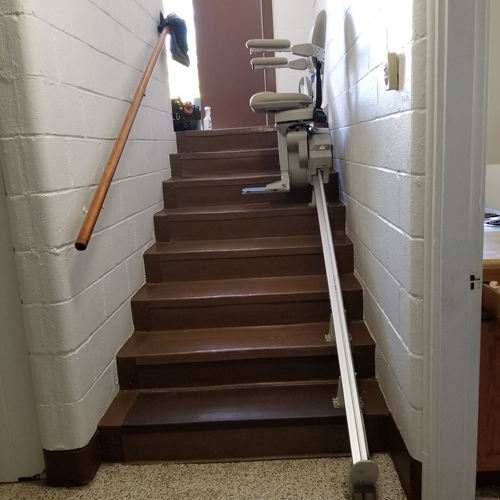Bruno Elite SRE 2010 Residential and Commercial Straight Rail Stair Lift