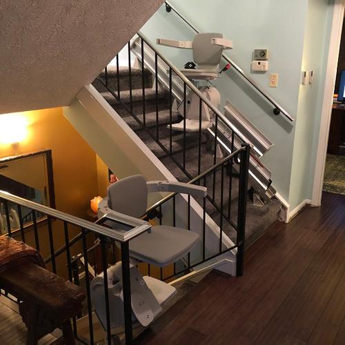 Bruno Elan SRE 3050 Residential Straight Rail Stair Lift