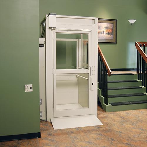 Commercial Indoor and Outdoor Vertical Platform Wheelchair Lift